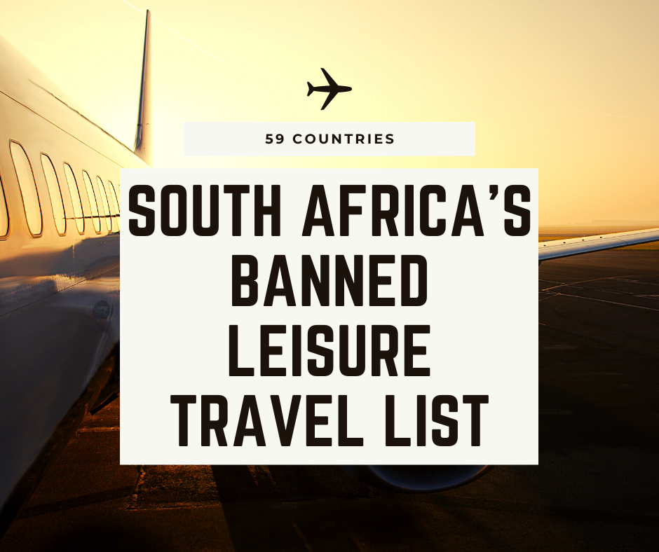 where to travel as a south african