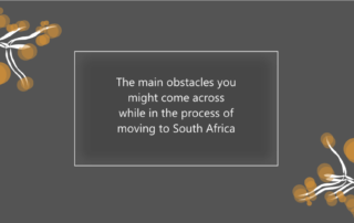 What to consider when moving to South Africa