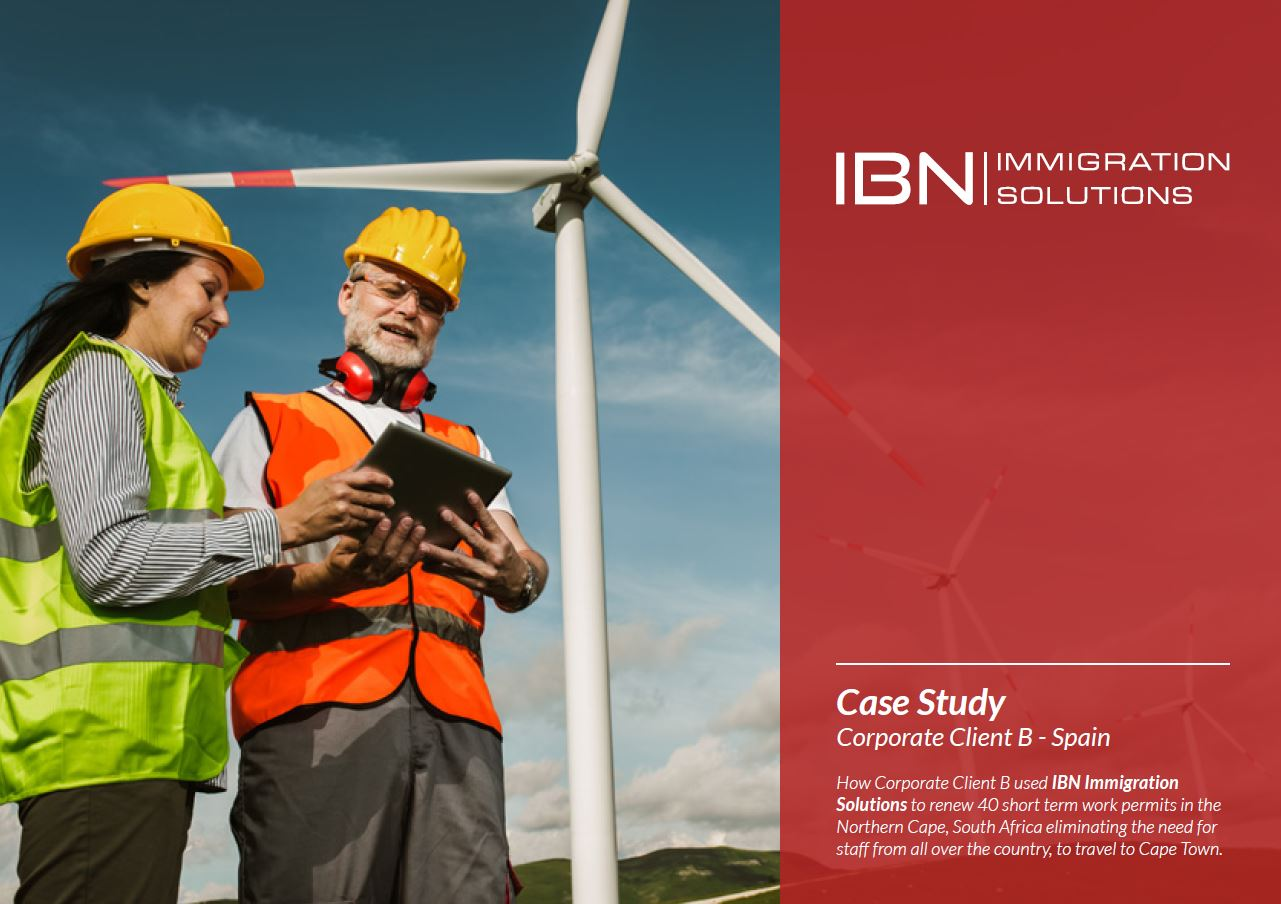 Corporate Immigration Case Study - Energy Industry - South Africa